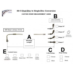 custom order guide upgrade motorcycle brake lines magnum braided rh magnumshielding com