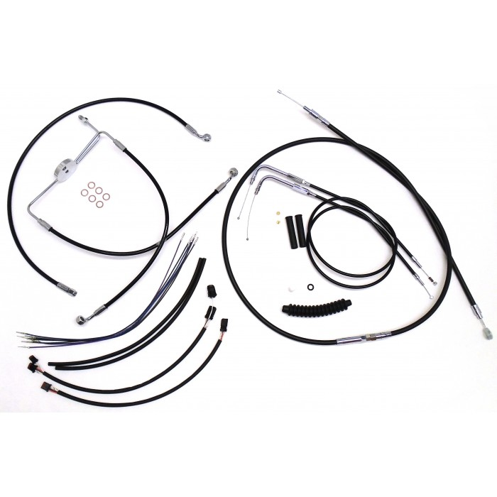 Motorcycle Turn Signal Wiring Kit also Xv750 Wiring Diagram 1996 furthermore I Love These Types Of Diagrams also Color Chrome Wire Loom as well Rear Lights Mod. on harley turn signal connectors