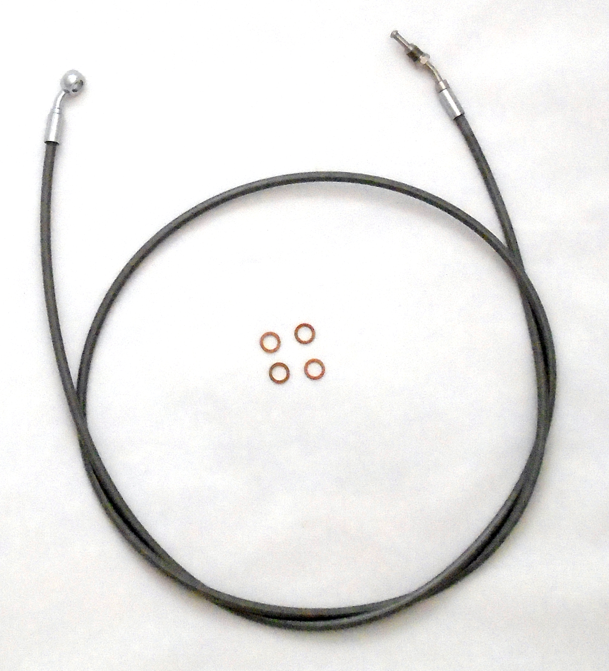 Magnum Shielding Motorcycle Brake Lines Clutch Cables Throttle Idle Harley By Wire Wiring Diagram Xr Stainless Hydraulic