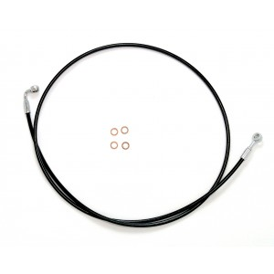 XR Stainless Non-ABS Single Disc Brake Lines