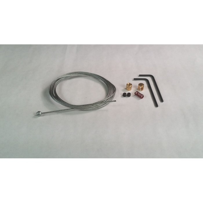 1981 Harley Throttle Cable Kit : Harley davidson throttle idle repair kit
