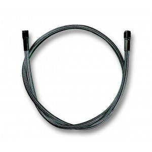 """Stainless Braided Universal 30/"""" Brake Line with AN-3 ends Harley-Davidson"""